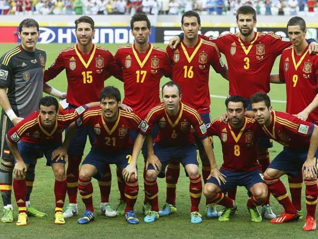 World Cup 2014 - Spain Team