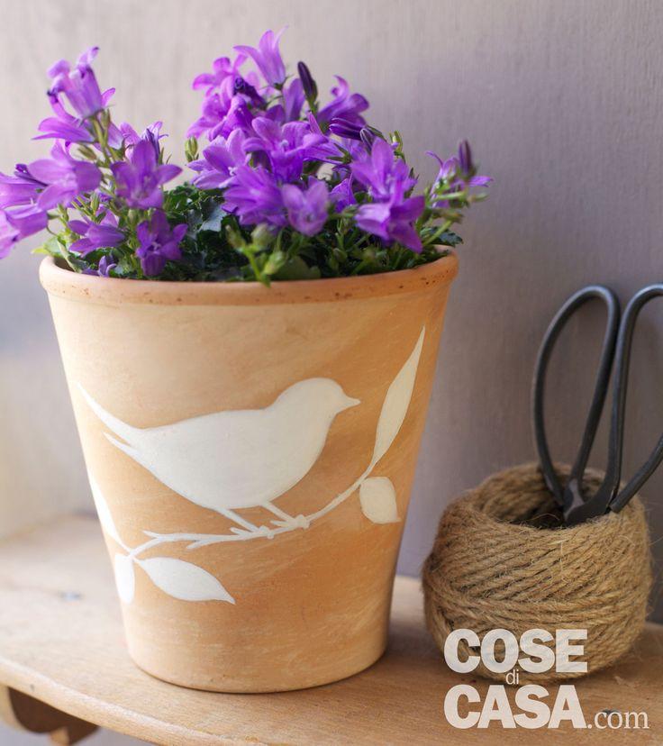10 idee su giardino sul balcone su pinterest giardino - Vasi terracotta da giardino ...