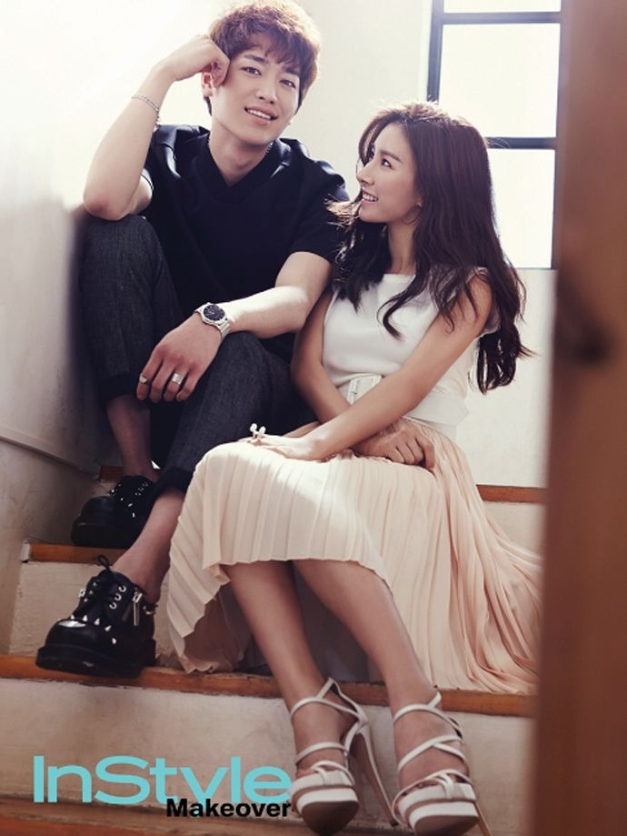 Seo Kang Joon & Kim So Eun Are Sexy Lovers For Instyle Makeover | Couch Kimchi