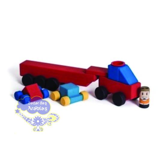 Caminhão Cegonha Hergg Brinquedos, Caminhão Hergg Brinquedos, Hergg Brinquedos, Brinquedos Educativos