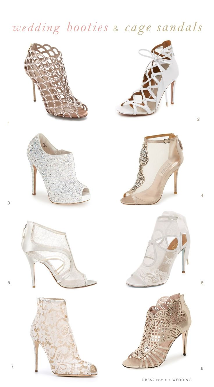 Booties for Weddings | Winter wedding shoes
