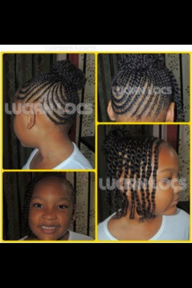Fantastic 1000 Images About Natural Kids Updos On Pinterest Natural Updo Hairstyles For Men Maxibearus