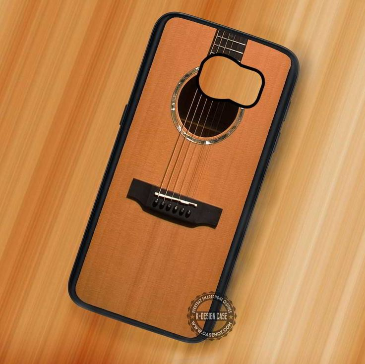 Guitar Accoustic Radio Retro - Samsung Galaxy S7 S6 S5 Note 7 Cases & Covers