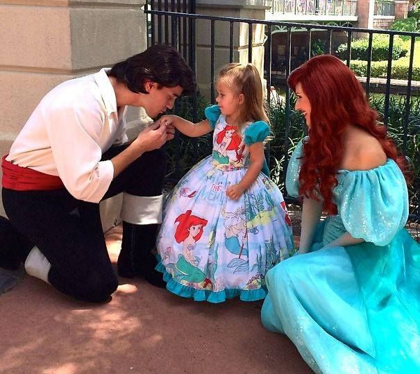 Best PRINCESSSSS Images On Pinterest Culture Disney Costumes - Mom creates the most adorable costumes for her daughter to wear at disney world