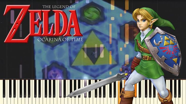 how to play gerudo valley on piano