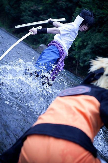 Sasuke (& Naruto) from Naruto Shippuden