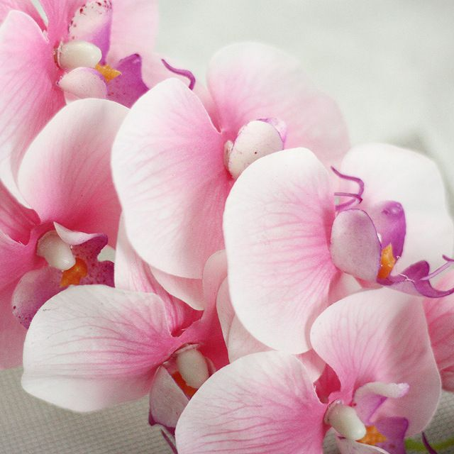 Real touch Artificial flowers artificial orchids for sale artificial orchid plants for valentine's day fake flowers