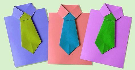 Bästa presenten inför Fars dag fixar du enkelt själv. Vik ett snyggt kort och skriv en fin hälsning.
