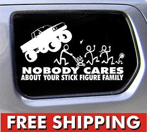 Best Stick Figure Family Images On Pinterest Family Stickers - Vinyl decals for your caramazoncom your stick family was delicious trex vinyl decal
