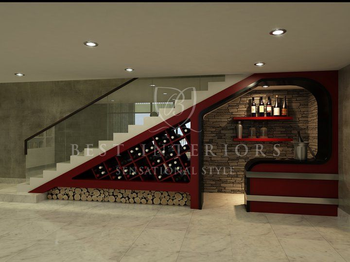 Under Stairs Wine Room Gorgeous Bar Under Stairs Bars