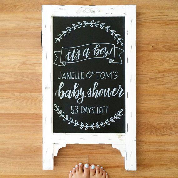 Best 25 Baby Shower Chalkboard Ideas On Pinterest