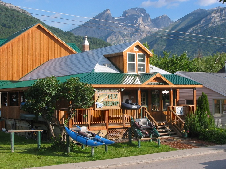 Dave Brown Outfitters. Fernie, BC. Great people and a great shop. The Elk River flows through Fernie. Wonderful fishery!
