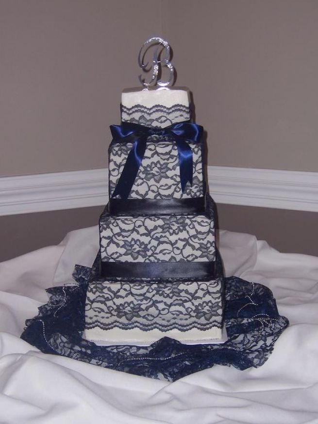 wedding cakes navy blue 1000 ideas about navy blue wedding cakes on 25066