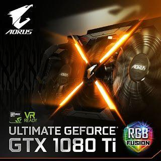 [News 4 Technics] Gigabyte подготвя анонса на графичния ускорител GeForce GTX 1080 Ti AORUS   Gigabyte Technology публикува първия тийзър на бъдещата нереферентна версия на графичния ускорител NVIDIA GeForce GTX 1080 Ti. Както може да се съди по представената снимка устройството ще притежава почти идентичен дизайн с този който видяхме в адаптера Gigabyte GeForce GTX 1080 AORUS. И така какво ни чака във видеокартата Gigabyte GeForce GTX 1080 Ti AORUS? Няма съмнение че пред нас стои ускорител…