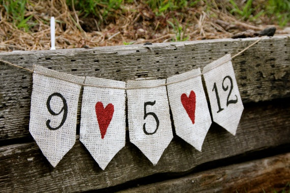 25 best ideas about burlap banner wedding on pinterest for Save on crafts burlap