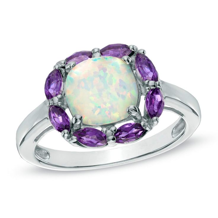 Zales Candy Colored Diamond Rings