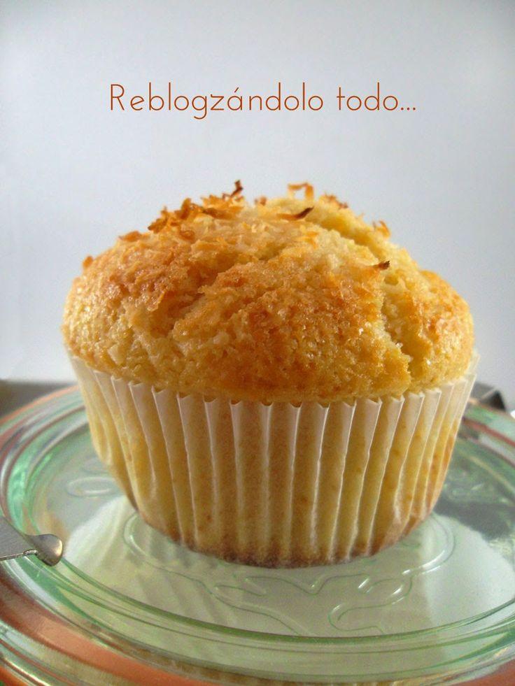 Reblogzándolo todo: MAGDALENAS DE COCO