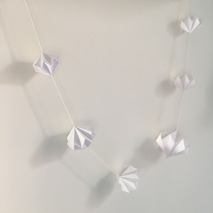 Best  Origami Garland Ideas On   Origami Stars