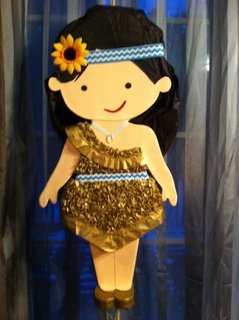 Kansas native american girl party