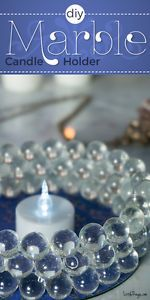Machen Sie einen schönen Kerzenhalter mit nur Murmeln und einer alten CD
