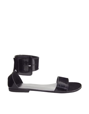 ASOS FOOTSTEP Two Part Sandals
