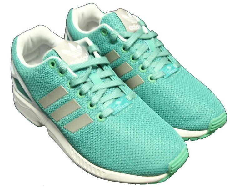 #esty #runs #shoes  Adidas ZX Flux Wow Zapatillas B34059 Chica Damen Womens Entrenadores Zapatos