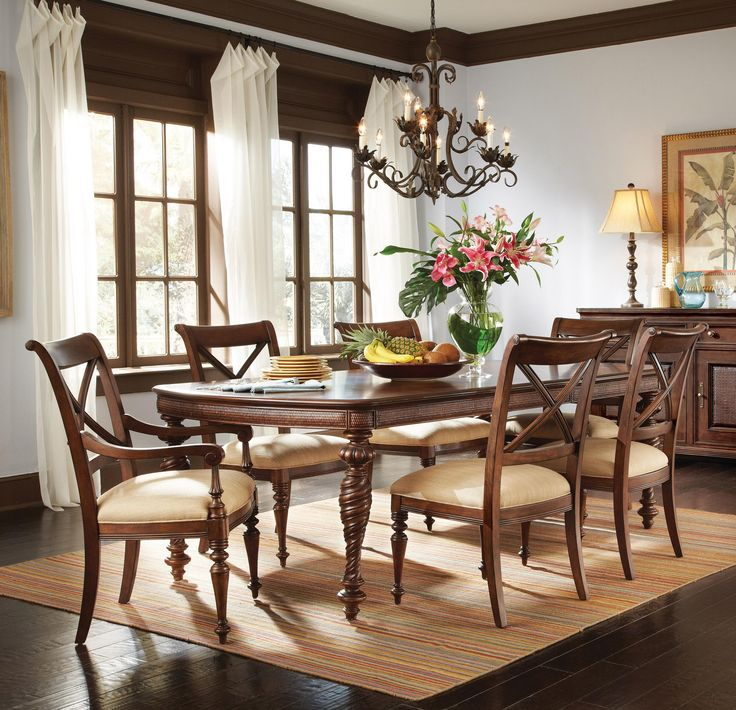 Port Royal 7 Piece Leg Dining Table Set by A R T