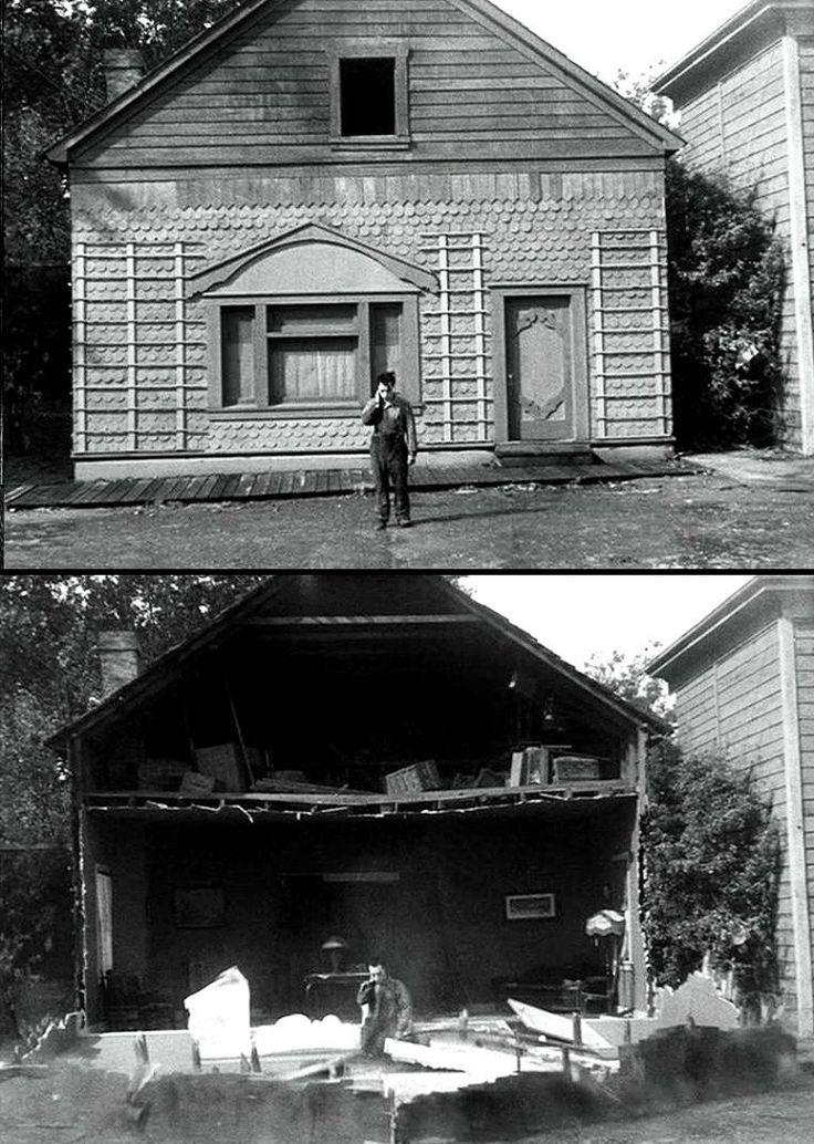 Buster Keaton in Steamboat Bill Jr 1928