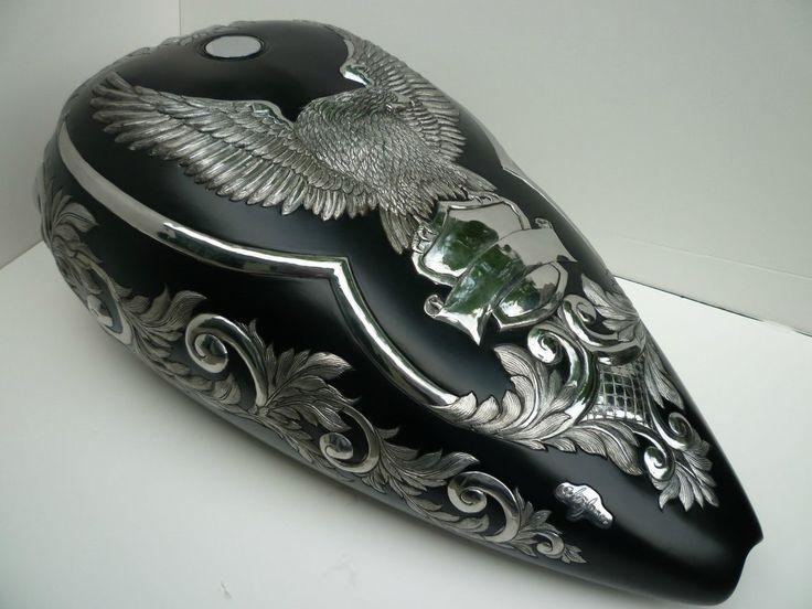 Eagle Tank metal art