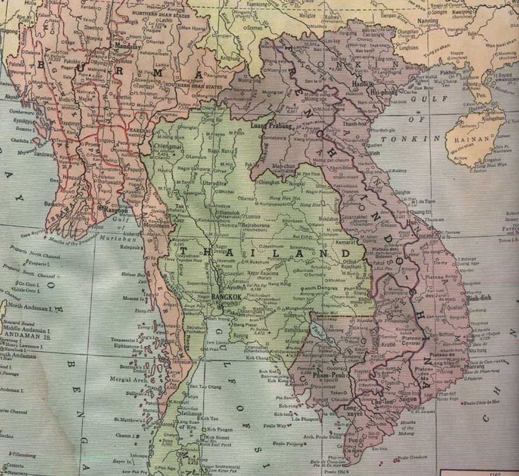 Map of Southeat Asia 1942 15 best