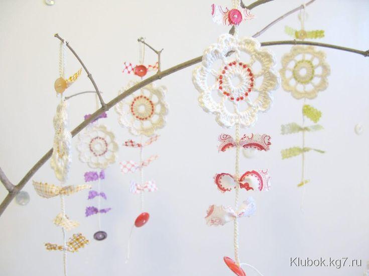 Особенные салфеточные цветы | Клубок