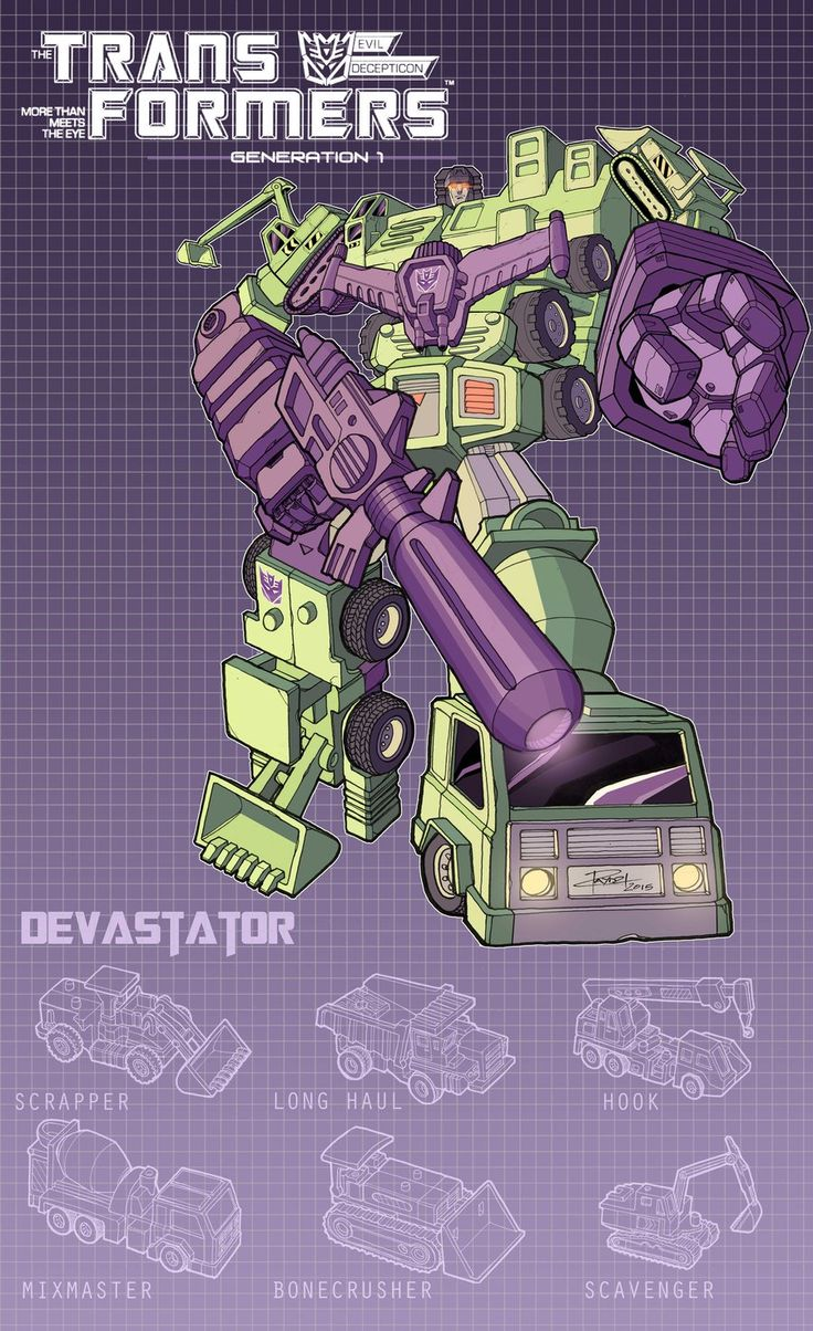 Devastator poster by J-Rayner.deviantart.com on @DeviantArt