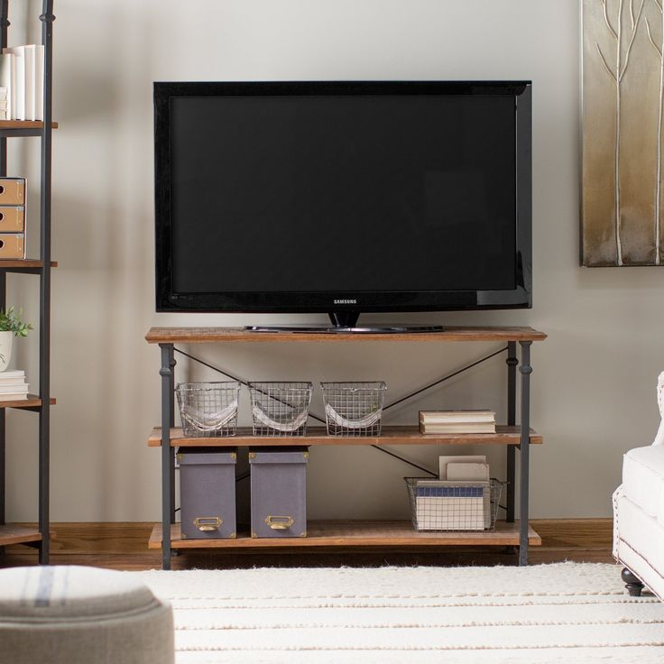 Bedroom Tv Stand Part - 41: Homelegance Factory TV Stand - $329.99 @hayneedle
