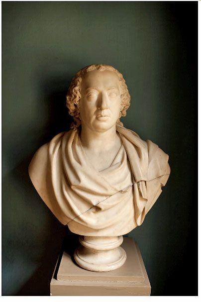Alexander Trippel, Johann Gottfried Herder, 1790, Marmor; verzameling van Goethe