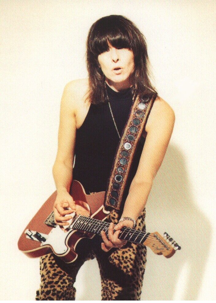 Chrissie Hynde - I heart this woman