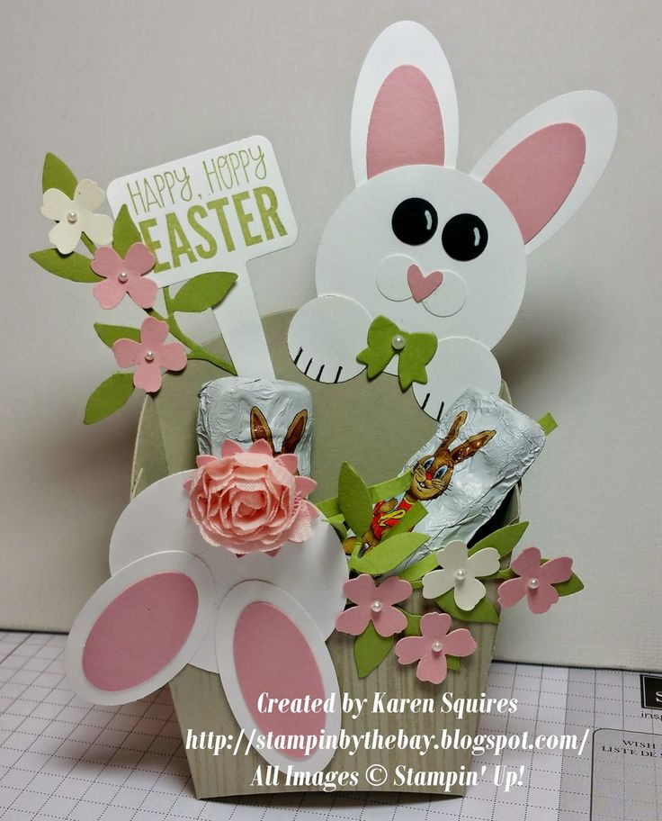 Stampin' By The Bay: Easter Bunny Fry Box