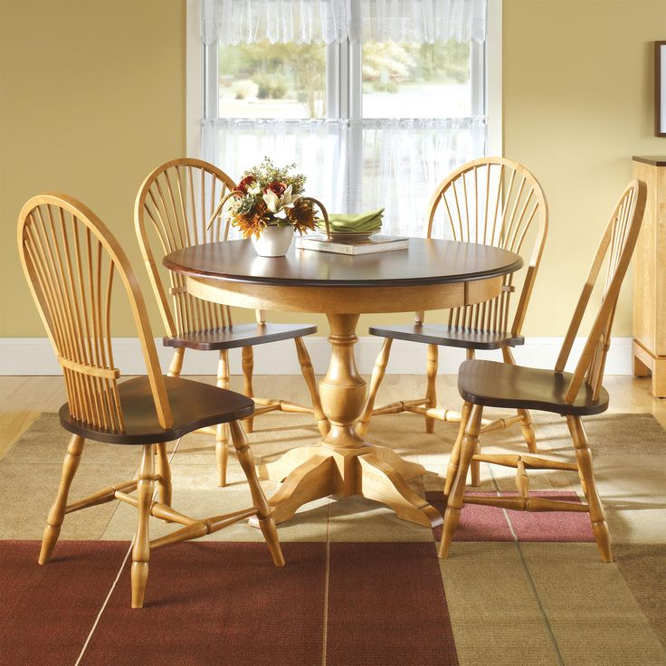 Custom Dining <b>Customizable</b> Round Table Set by Canadel