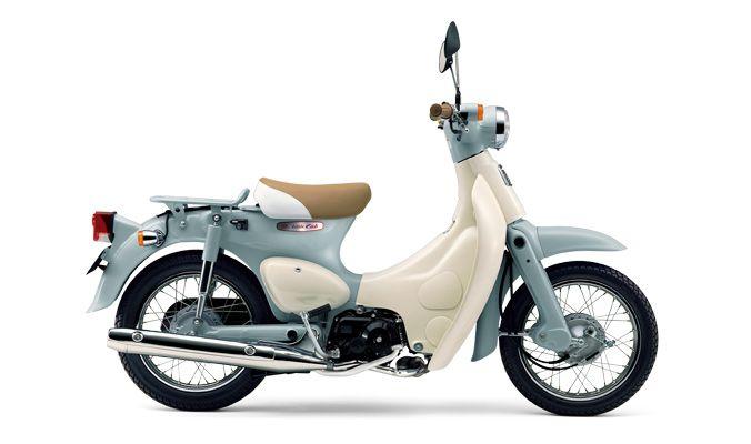 #LittleCub for me, please! #Honda リトルカブ(プコブルー×ココナッツホワイト)