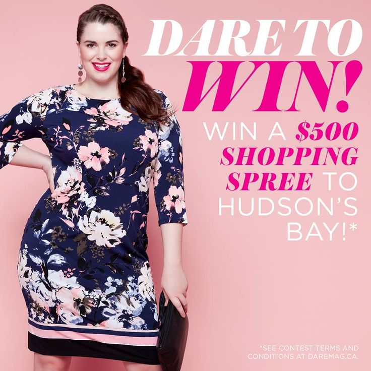 Win a $500 Shopping Spree to Hudson's Bay!