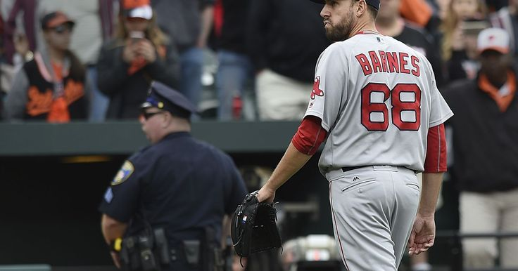 Red Sox pitcher Barnes suspended 4 games for buzzing Machado - USA TODAY
