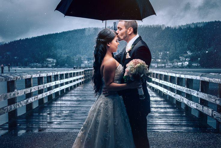 rain wedding vancouver