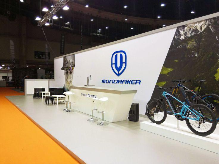 Stand diseñado y construido para Mondraker para la feria Unibike