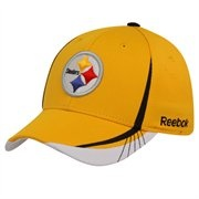 Reebok Pittsburgh Steelers Gold 2011 Official Draft Day Flex Hat