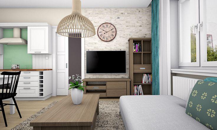 Obývačka v provensálskom štýle