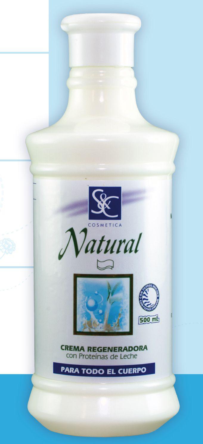 La molécula de proteína de leche muestra una extraordinaria retención al agua y propiedades texturizantes que devuelven a la piel su tesura y suavidad. Protege y nutre todo tipo de piel. Por eso tienes que probar nuestra Crema S&C Regeneradora, pídela a ventas@clyesimport.com