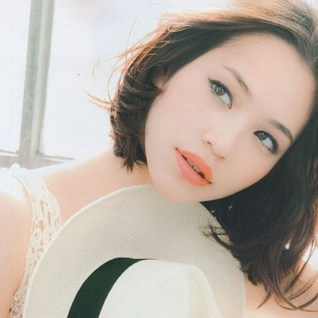 kiko mizuhara with bob hair