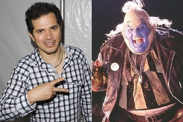 Earlier last week I rewatched Spawn (1997) I had no idea that one of my favorite actors John Leguizamo played the violator. What other actors have you seen play a role and they look nothing like they do in life?