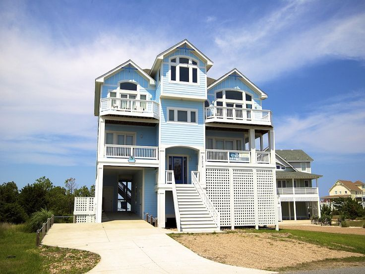 6 Bedroom Oceanside Rental House in Salvo  part of the Outer Banks of North  Carolina  Includes Elevator  Pool  Hot Tub  Hi Speed Internet  Linens. 1000  ideas about Outer Banks Vacation Rentals on Pinterest