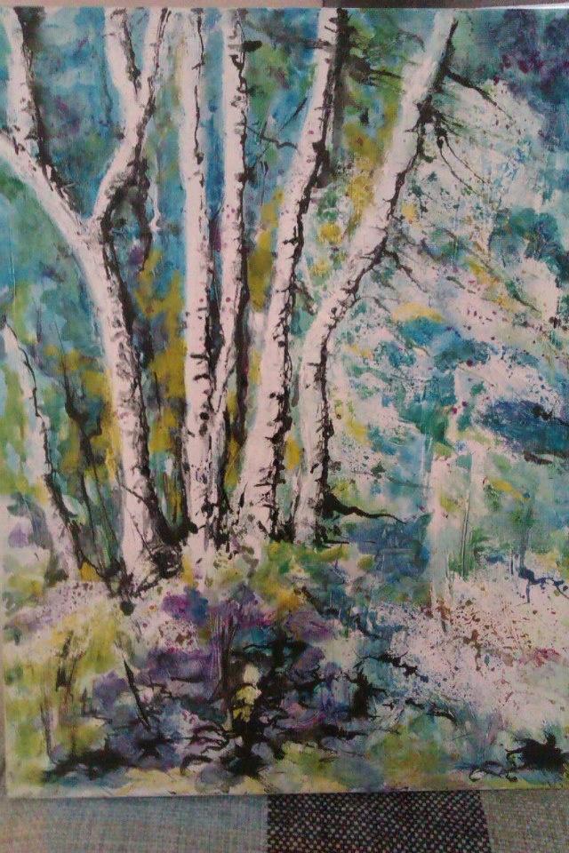 birchesBirches, Inspiration Image