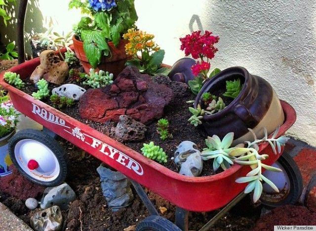 LOOK: The Most Creative Container Garden Ever